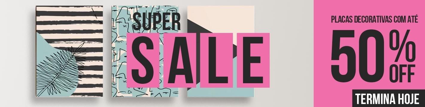 Super Sale Desk Placas