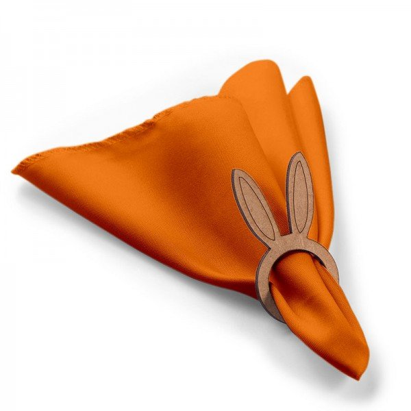 pascoa orelha coelho laranja