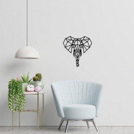 elefante com desenho geometrico 1
