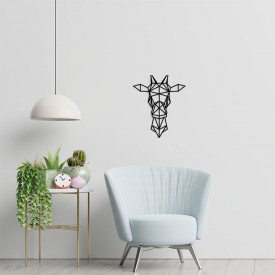 girafa com desenho geometrico 1