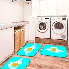 3 tapetes lavanderia